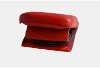 Head Phone Leather Case, dark red