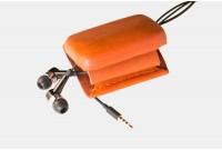 Head Phone Leather Case